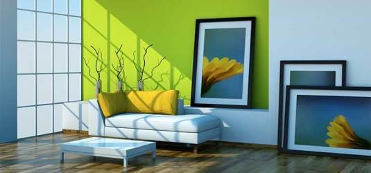 Cómo utilizar los colores en casa para ahorrar energía