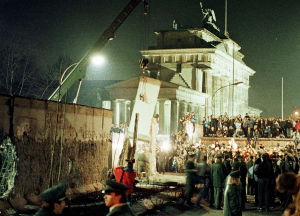 The Brandenburg Gate 9th Nov 1989