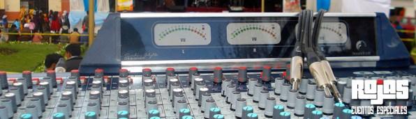 Sonido en vivo para conciertos