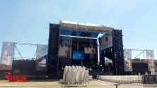 escenario huancayo THE POP TOUR - HUANCAYO