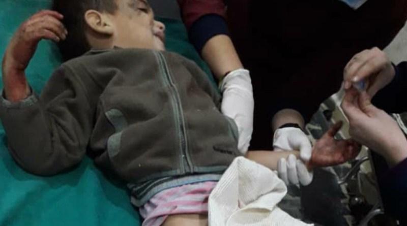 Un ataque de Turquía mata a 10 civiles en Til Rifat, en Shehba, la mayoría niños.