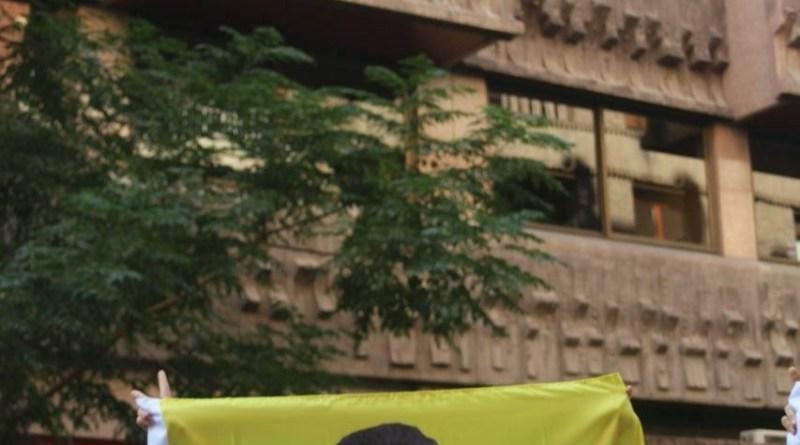 Acción ante la embajada de Turquía en Madrid [10/10/20]