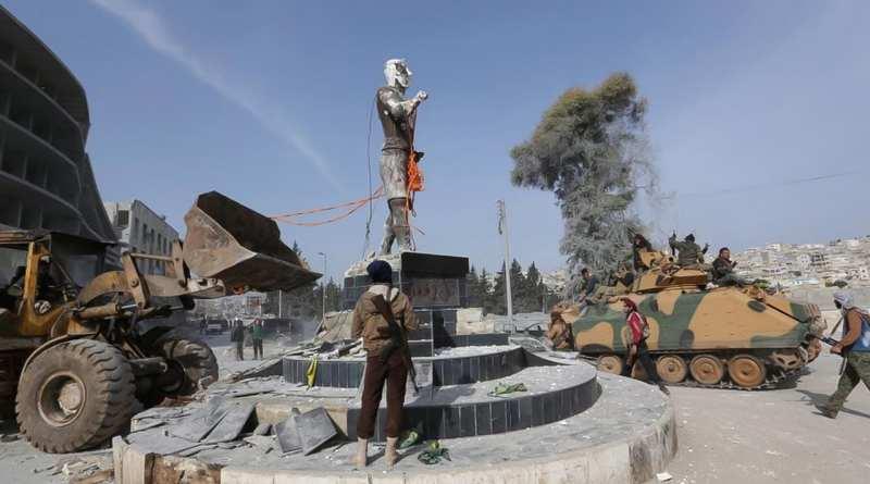 Crímenes de guerra en Afrin