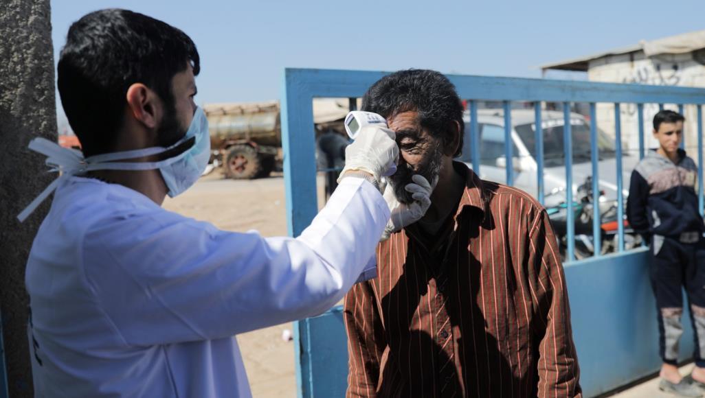 أزمة الفيروس التاجي في شمال وشرق سوريا