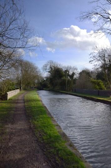 Notts - Yorks boundary at Cinderhill aqueduct.