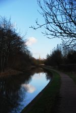 View down the canal