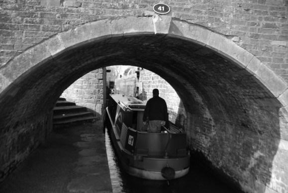 Trip boat Hugh Henshall under Highground Bridge