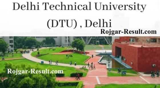 DTU Recruitment DTU Teaching Recruitment
