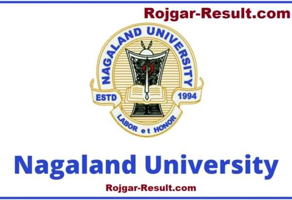 Nagaland University Recruitment Nagaland University Jobs Nagaland University Vacancy