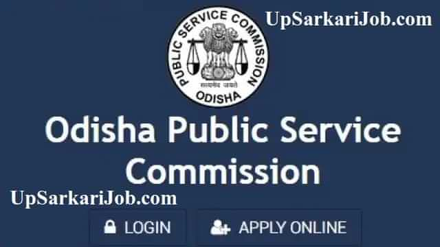 OPSC Recruitment OPSC Notification OPSC Bharti