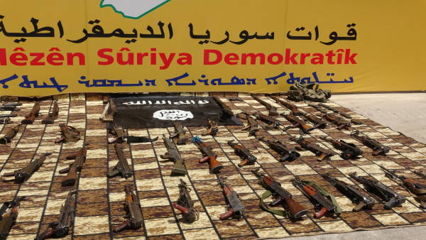 FDS: 42 djihadistes de Daesh capturés lors d'une opération