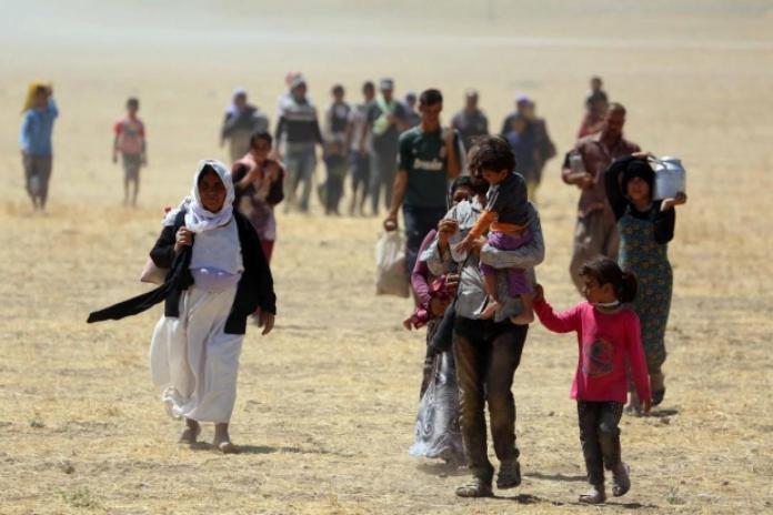 Près de 500 Yézidis de Shengal prise en charge en Syrie par les autorités kurdes, ont rejoint leurs familles, le sort de 3 000 autres reste inconnu