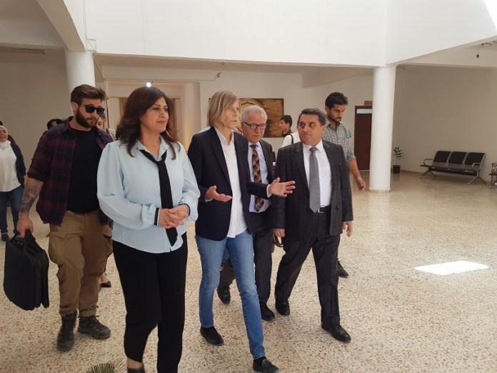 Une délégation de l'assemblée nationale française conduite par Marielle de Sarnez au nord de la Syrie
