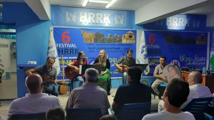 6e Festival de Culture et d'Art du Rojava à Qamishlo