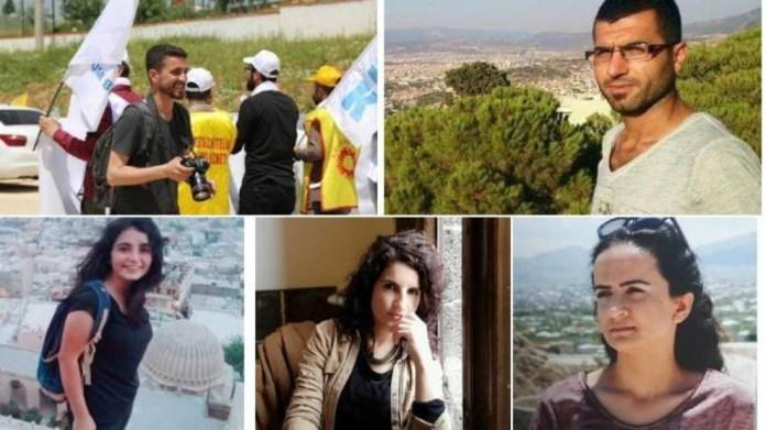 5 journalistes en garde à vue depuis 4 jours à Mardin
