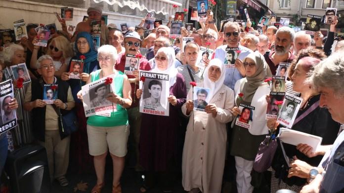 Istanbul: 750ème rassemblement des Mères du Samedi