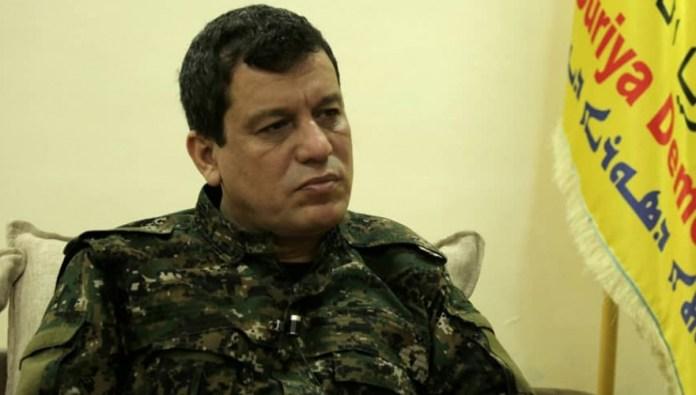 «Nous voulons une zone de sécurité sur toute la frontière», dit le commandant des FDS