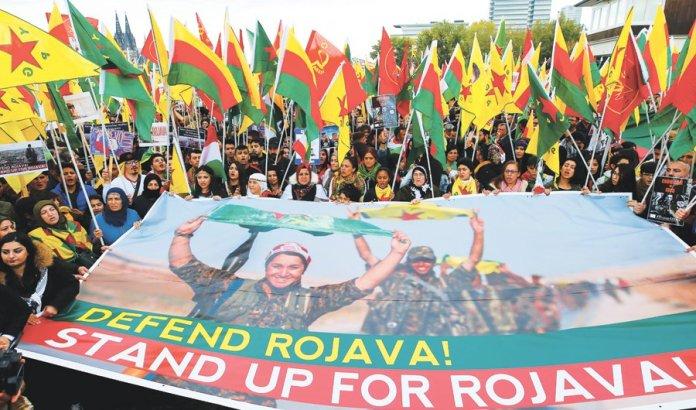 Appel pour une journée internationale d'action pour le Rojava le 14 décembre
