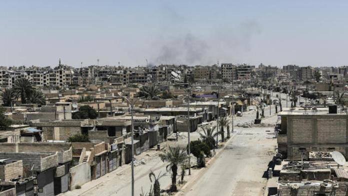Raqqa bientôt débarrassée des mines posées par l'Etat islamique