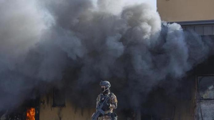 L'Iran tire des missiles balistiques sur plusieurs base américaine en Irak
