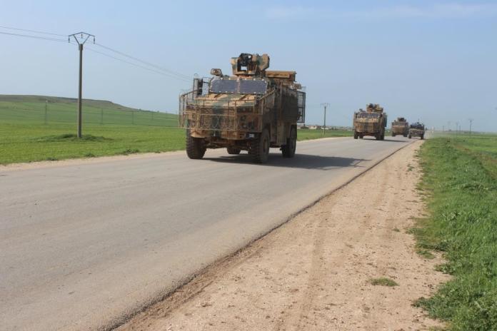 Rojava: Patrouille conjointe turco-russe à Al-Darbasiyah et Amuda