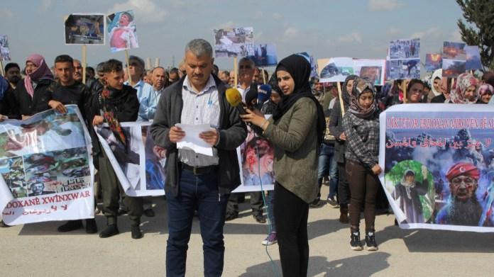 Le Conseil de canton de Shehba exhorte la Turquie à quitter Afrin !