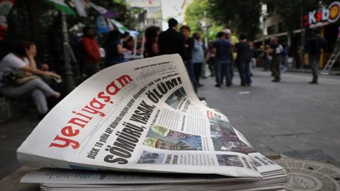 Le quotidien kurde Yeni Yaşam suspend son édition imprimée en raison du Covid-19