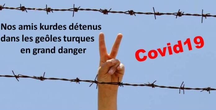 Nos amis kurdes détenus dans les geôles turques en grand danger