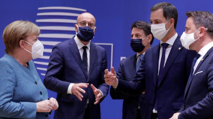 Comme il fallait s'y attendre, aucune mesure punitive n'a été imposée à la Turquie lors du sommet spécial de l'UE à Bruxelles en raison de son attitude agressive dans le différend gazier avec la Grèce. Au lieu de cela, l'UE ne fera que maintenir la menace de sanctions.