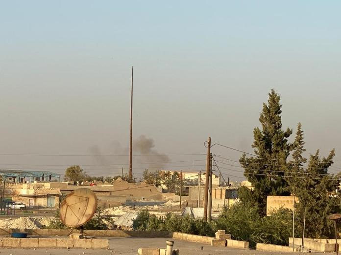 Dans la région d'Aïn Issa, au nord de la Syrie, de violents combats ont éclaté la nuit dernière, entre les FDS et l'armée turque