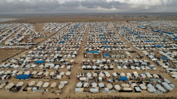 Dans le camp d'al-Hol, l'un des plus dangereux au monde, l'AANES travaille au retour des familles syriennes dans leurs foyers.