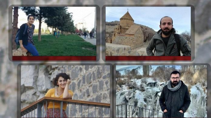 Quatre journalistes kurdes incarcérés à Van pour avoir couvert la torture subie par deux villageois jetés d'un hélicoptère de l'armée turque.