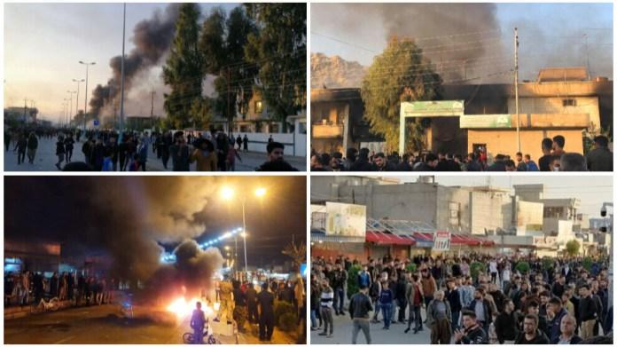 Les manifestations contre la corruption au Sud-Kurdistan s'amplifient. Au moins deux manifestants tués et des dizaines d'autres blessées.