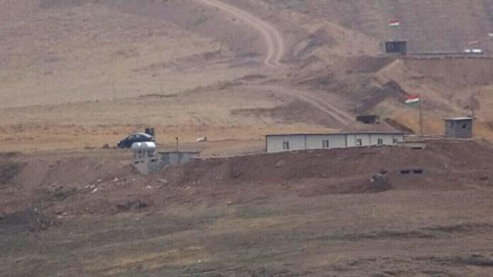 Le PDK dominé par le clan Barzani a déployé, mercredi, des armes lourdes le long de la frontière entre le Sud-Kurdistan et le Rojava.