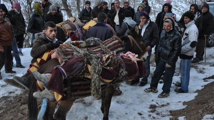 Le 28 décembre 2011, 34 civils, dont 19 mineurs, étaient tués sous les bombes de l'aviation turque, à proximité du village kurde de Roboski.