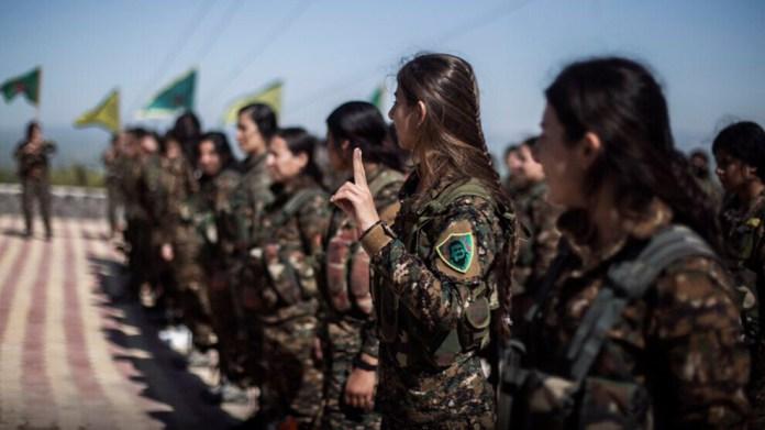 Au 3e anniversaire de l'invasion d'Afrin par la Turquie, la branche internationaliste des YPG rend hommage à celles et ceux tombés dans la résistance d'Afrin.