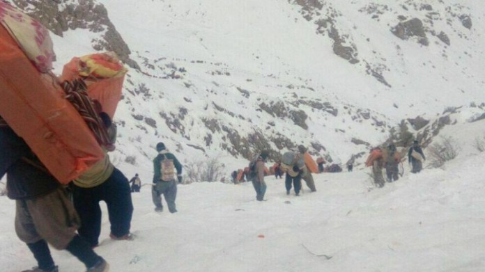 Des soldats iraniens ont attaqué un groupe de kolbars dans la région frontalière de la province d'Ourmia. Un kolbar a perdu la vie.