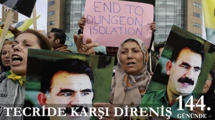 La grève de la faim lancée dans les prisons turques pour protester contre l'isolement du leader kurde Abdullah Öcalan est dans son 144e jour.