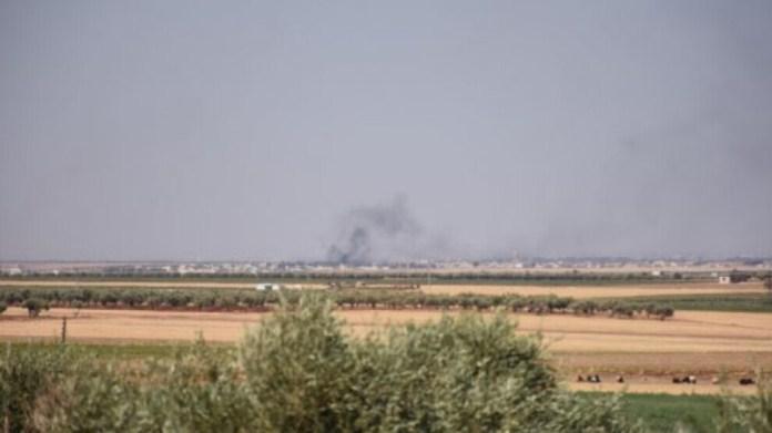 L'État turc a bombardé dimanche trois villages du district de Sherawa à Afrin et un village de Shehba.
