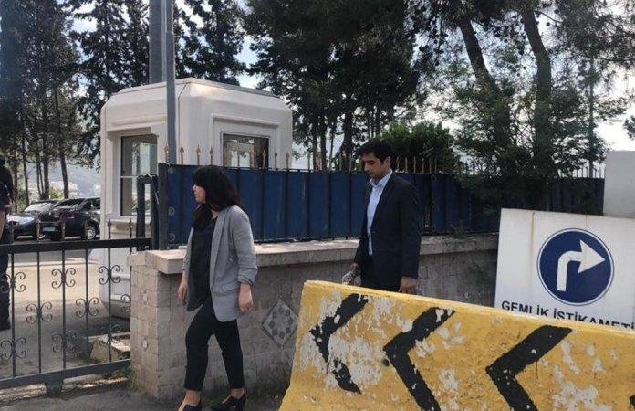 Les avocats d'Abdullah Ocalan, Raziye Öztürk, Rezan Sarıca, Faik Özgür Erol et Cengiz Yürekli, ont demandé au bureau du procureur général de Bursa à rencontrer leur client.