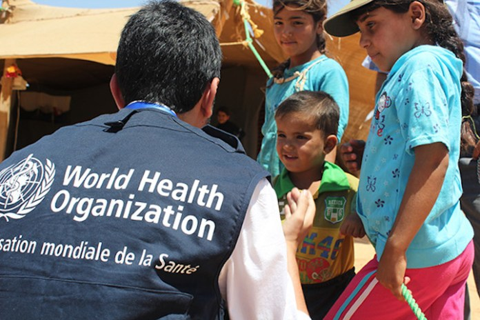 L'organisation mondiale de la santé (OMS) est critiqué par l'administration autonome du nord-est de la Syrie en raison du vaccin pour la Covid