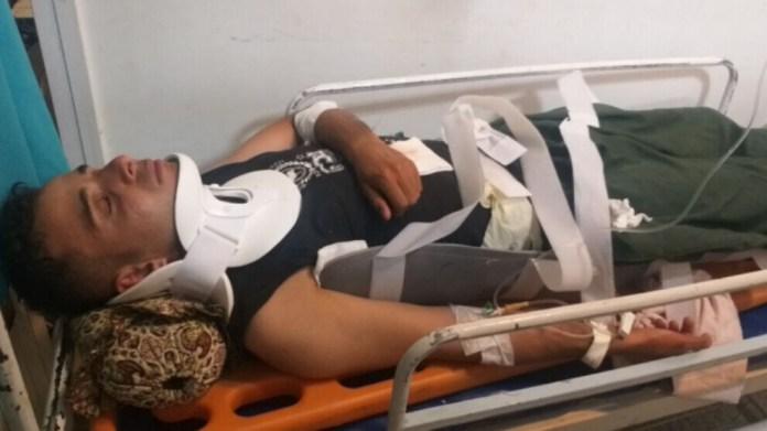 Un kolbar a été gravement blessé après avoir chuté d'une falaise dans la région de Kermanshah, au Kurdistan de l'est (Iran).