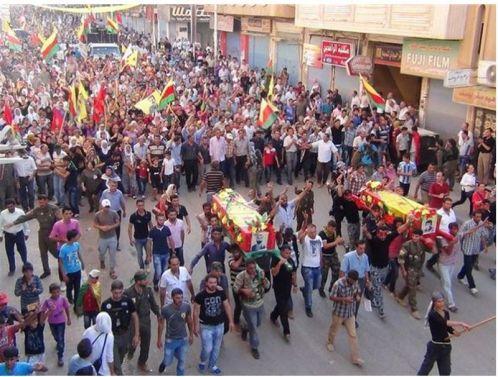 YPG-Guerillas.Funeral-ceremony-7