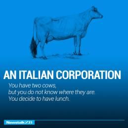 an italian corruption