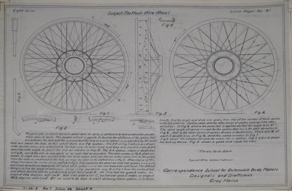 medium resolution of eighth series lesson paper 21 the houk wire wheel house wiring diagrams click on the image