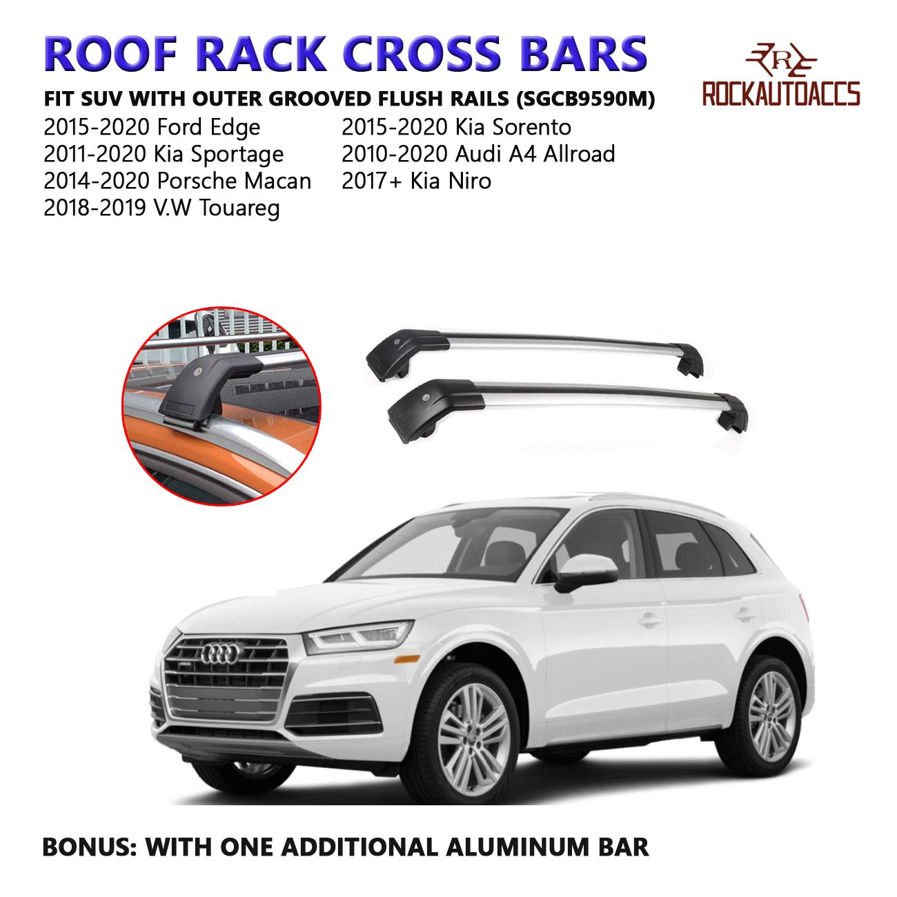 Top Roof Rack Fit For KIA Niro 2017 2018 2019 Baggage Luggage Cross Bar crossbar
