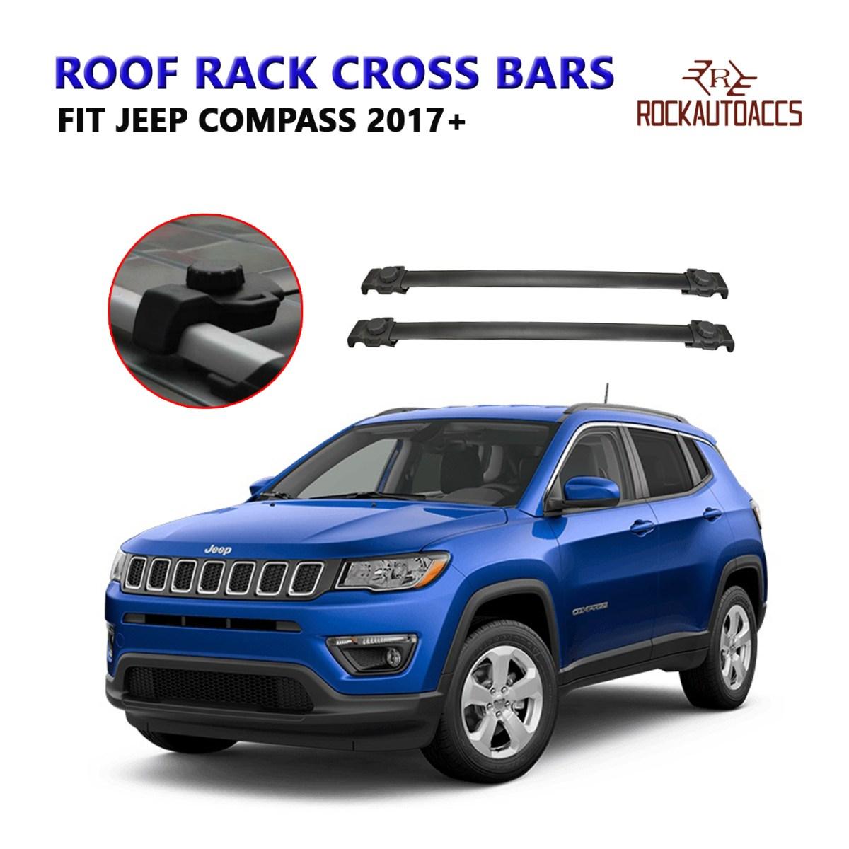 ROKIOTOEX Roof Rack Crossbars Roof Rail Cross Bars Fit ...