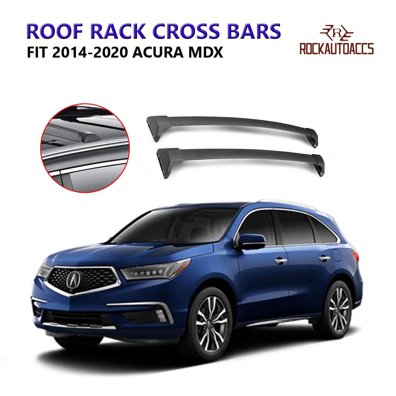 ROKIOTOEX Roof Rack Crossbars Roof Rail Cross Bars Fit