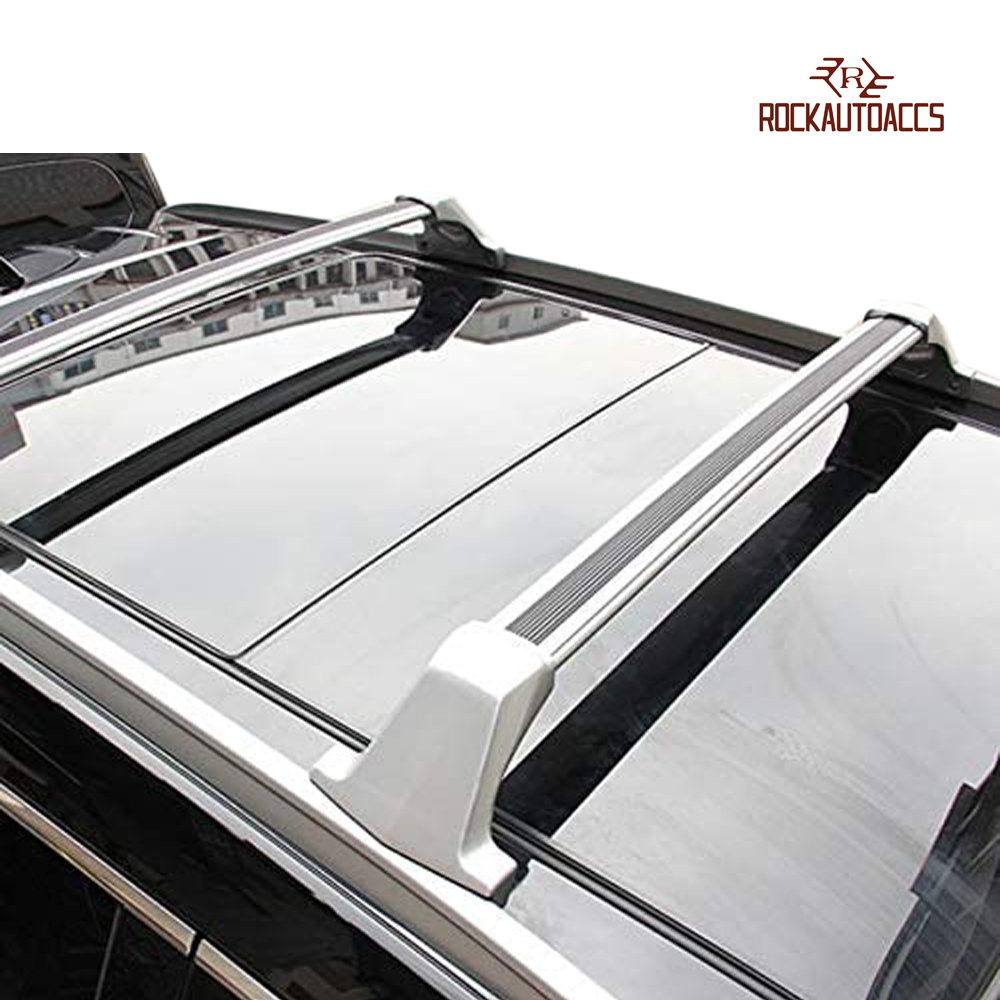 ROKIOTOEX Roof Rack Crossbar Side Rail Cross Bar Fit 2017 ...