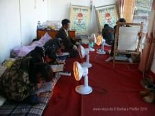 Thangka-Malschule Tibet 3